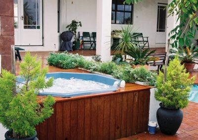 external spa bath