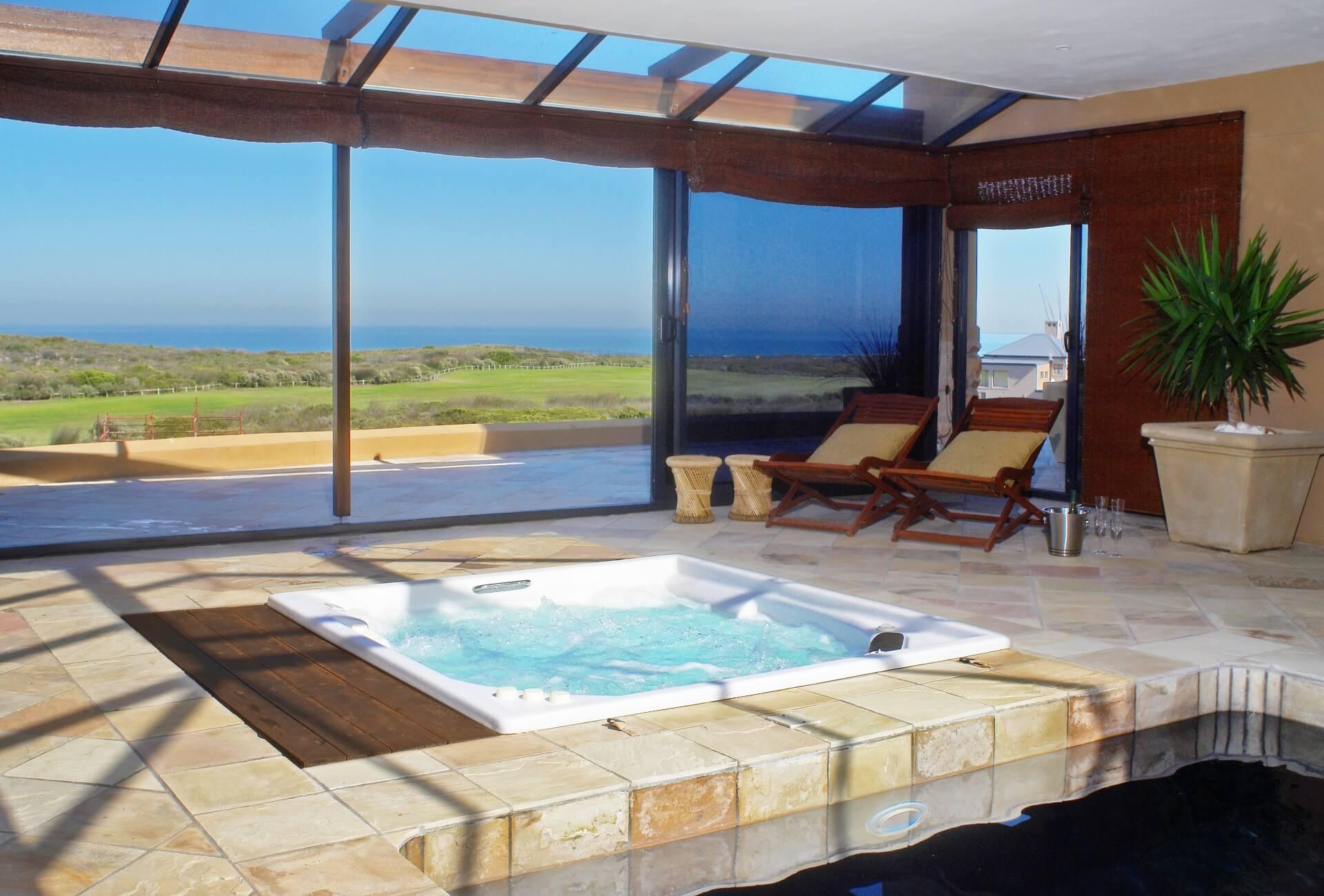 luxury accommodation with jacuzzi